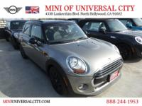 MINI of Universal City proudly presents 2017 MINI