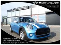 2017 Mini Cooper Electric Blue MetallicABS brakes,