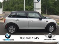 2017 MINI Cooper White Silver Metallic 1.5L 12V