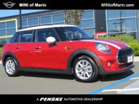 Model 17M1 Cooper 4dr USD 21,950.00 Color B83 Blazing