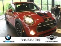 2017 MINI Cooper S Blazing Red Metallic 2.0L 16V