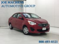 CARFAX One-Owner. Clean CARFAX. Red 2017 Mitsubishi