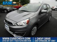 Check out this 2017 Mitsubishi Mirage ES. Its Variable