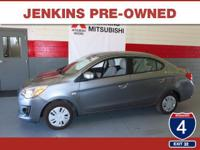 New Arrival! This Mitsubishi Mirage G4 is Certified