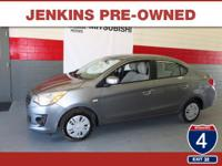 Low Miles! This 2017 Mitsubishi Mirage G4 ES will sell
