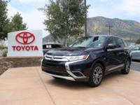 4WD. CARFAX One-Owner. Clean CARFAX. 2017 Mitsubishi