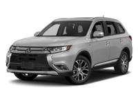 Options:  2017 Mitsubishi Outlander Es|Labrador Black