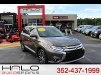 2017 MITSUBISHI OUTLANDER SEL FULLY LOADED WITH LEATHER