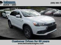 Options:  2017 Mitsubishi Outlander Sport Se