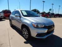CARFAX One-Owner. Clean CARFAX. Silver 2017 Mitsubishi