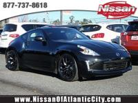 Come see this 2017 Nissan 370Z 2DR CPE AT. Its