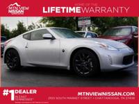 Lifetime Warranty! . This 2017 Nissan 370Z is SHARP in