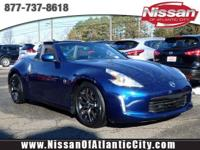 Come see this 2017 Nissan 370Z 2DR ROADSTER AT. Its