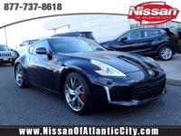 Check out this 2017 Nissan 370Z Sport Tech. Its Manual