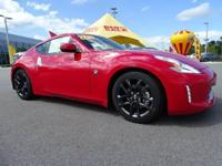 Featuring a sleek and sporty exterior, the Nissan 370Z