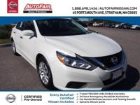 Nissan Certified, CVT, ABS brakes, Electronic Stability