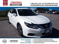 Nissan Certified, CVT, ABS brakes, Alloy wheels,