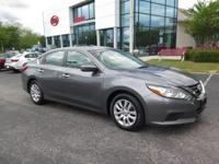 CARFAX One-Owner. Clean CARFAX. Gray 2017 4D Sedan