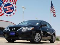 2017 Nissan Altima Super Black CVT Altima 2.5 S, 4D