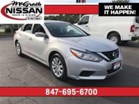 2017 Nissan Altima 2.5 S CARFAX One-Owner.39/27