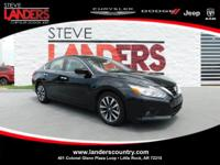 CARFAX One-Owner. Super Black 2017 Nissan Altima 2.5 SV