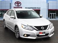 Brilliant Silver 2017 Nissan Altima 2.5 SV FWD CVT with