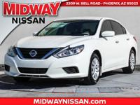 2017 Nissan Altima 2.5 S CVT with Xtronic. 39/27