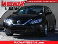 2017 Nissan Altima 2.5 CVT with Xtronic. 39/27