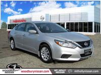CARFAX One-Owner. Clean CARFAX. Silver 2017 Nissan