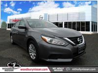 CARFAX One-Owner. Clean CARFAX. Gunmetal 2017 Nissan