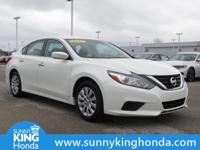 Options:  2017 Nissan Altima 2.5 S|White|Recent
