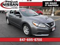 2017 Nissan Altima 2.5 S CARFAX One-Owner. Back-Up