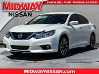 2017 Nissan Altima 2.5 SV CVT with Xtronic. 39/27