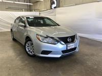 CARFAX One-Owner. Silver 2017 Nissan Altima 2.5 S FWD