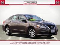 CARFAX One Owner. Java Metallic 2017 Nissan Altima 2.5