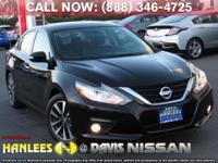Options:  2017 Nissan Altima 2.5 Sl|Black|Check Out