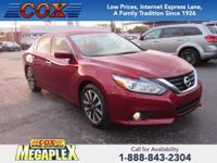 This 2017 Nissan Altima 2.5 SL in Cayenne Red is well