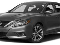 This 2017 Nissan Altima 4dr 2.5 SR features a 2.5L 4