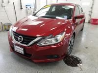 This 2017 Nissan Altima 2.5 SV in Scarlet features: