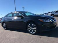 Recent Arrival! 2017 Nissan Altima Black CVT.Here at