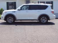 THIS IS A NICE NEW BODY STYLE 2017 NISSAN ARMADA SL.