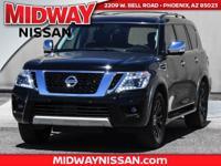 2017 Nissan Armada Platinum  Options:  Navigation
