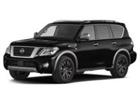 This 2017 Nissan Armada Platinum is offered to you for