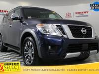 Recent Arrival! 2017 Nissan Armada SL Odometer is 13579