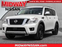 2017 Nissan Armada Platinum  Options:  Navigation