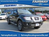 4WD. CARFAX One-Owner. 2017 Nissan Frontier PRO
