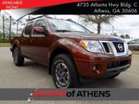 Look at this 2017 Nissan Frontier PRO-4X. Its Automatic
