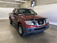 CARFAX One-Owner. Red 2017 Nissan Frontier SV RWD