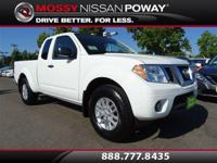 Frontier SV I4, 5-Speed Automatic with Overdrive, and