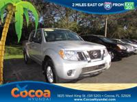 This 2017 Nissan Frontier S in Silver features: Clean